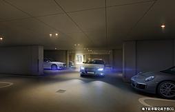 地下駐車場完成予想CG