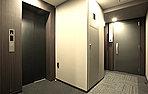 掲載の内廊下の参考写真は弊社分譲他物件(シティハウス月島駅エアーズコート)を撮影(平成23年3月)したもので、本物件のものではありありません。