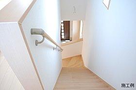 ◆ ゆとりの階段幅により、全世代が安心できます。