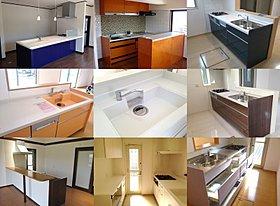 ◆ キッチン施工例。悩みだしたらキリがない!