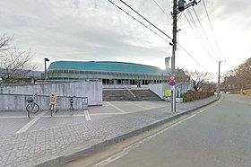 市民の心身の健全育成に寄与する相模原市北総合体育館です。