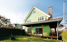 オレゴンの家(オレゴンハウス) 施工例 外観です。