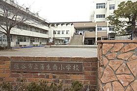 蒲生南小学校・・・60m+歩道橋