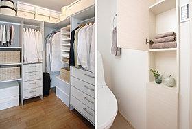 空間をすっきりと保つ豊富な収納※イメージ写真