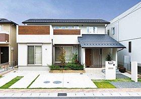 【施工例】日本家屋風の外観です