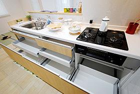 システムキッチン(収納部分)