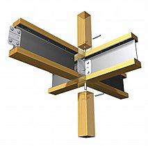木と鉄のオリジナル複合梁、「テクノビーム」