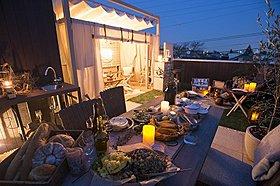 屋上リビング施工例 ガーデンプラン