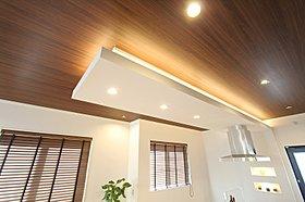 LDK約20帖の天井高は2.7mで広々空間