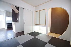 和室も自由に描いてください。