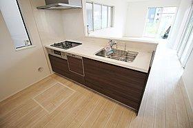 ☆1号棟☆人気の対面オープンキッチン!食洗機標準完備!
