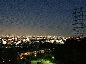 モデルルーム「大阪・神戸を一望出来る景観」