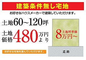 坪単価8万円からです!