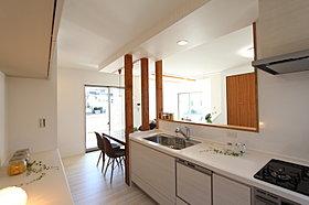 モデルハウス キッチン写真