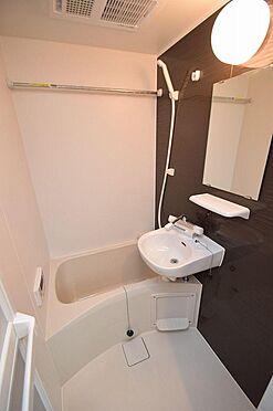 アパート-小金井市本町5丁目 清潔感のあるバスルーム
