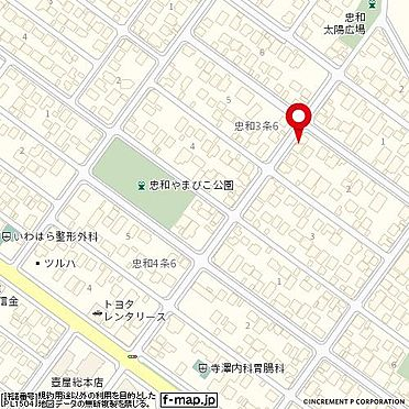 アパート-旭川市忠和三条6丁目 地図
