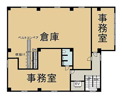 ビル(建物全部)-新宿区北新宿4丁目 2階 間取り図