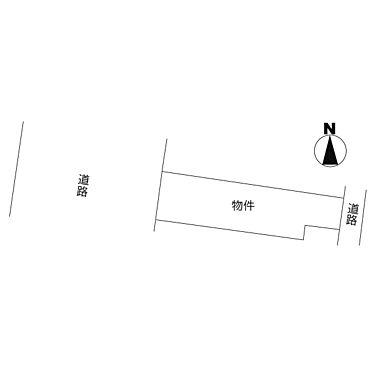 土地-水戸市城南 区画図
