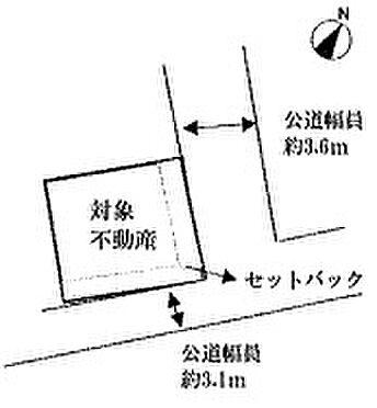 アパート-荒川区町屋5丁目 区画図