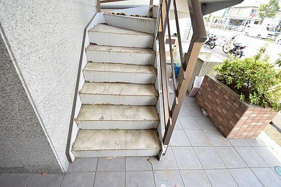 アパート-江戸川区東葛西5丁目 緩やかな昇り降りしやすい階段。