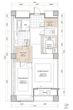 マンション(建物一部)-港区六本木6丁目 ゆとりの1LDK
