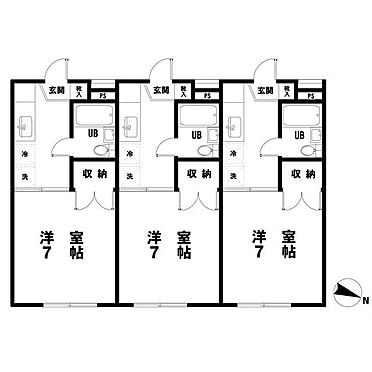アパート-町田市鶴川5丁目 間取り