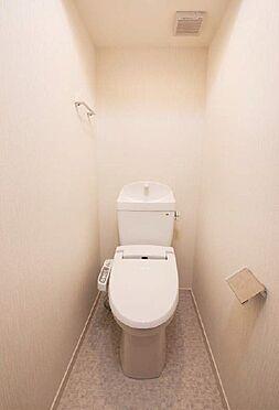土地-板橋区稲荷台 賃貸1R施工例トイレ写真