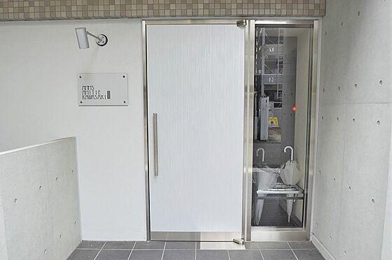 マンション(建物全部)-川崎市川崎区南町 白を基調とした明るいエントランス
