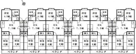 マンション(建物全部)-関市新田 間取り