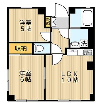 マンション(建物全部)-さいたま市大宮区桜木町4丁目 2LDK間取(反転タイプあり)/45.36平米