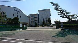 美里中学校(690m)