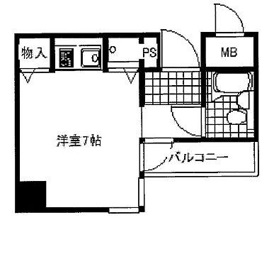 マンション(建物一部)-河内長野市菊水町 間取り