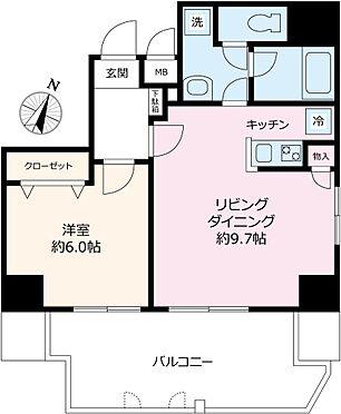 マンション(建物一部)-千代田区一番町 間取り