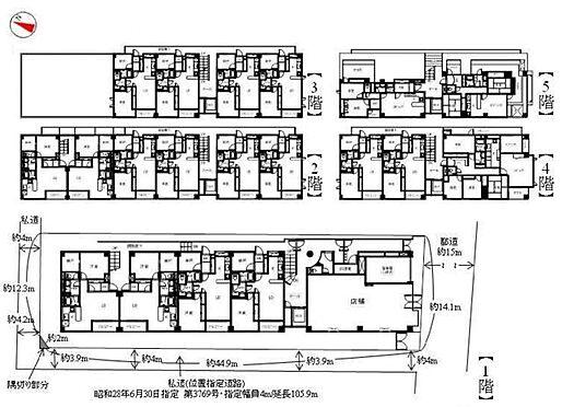 マンション(建物全部)-世田谷区桜3丁目 間取り