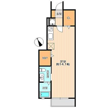 アパート-新宿区若葉1丁目 広々したお部屋でオススメの物件。
