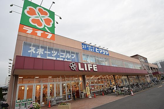 マンション(建物全部)-葛飾区奥戸1丁目 品揃え豊富なスーパーまで徒歩4分。