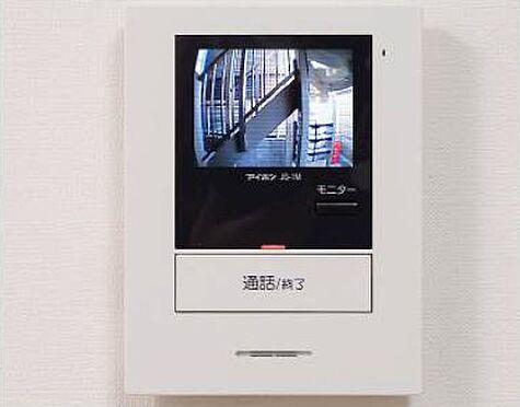 土地-板橋区稲荷台 賃貸1R施工例TVモニターフォン写真