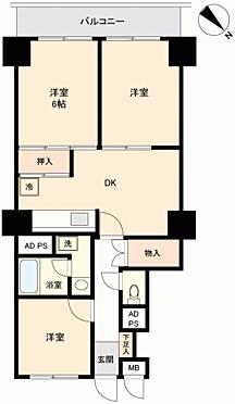 マンション(建物一部)-浜松市西区舞阪町弁天島 間取り
