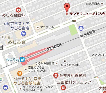 マンション(建物一部)-八王子市めじろ台1丁目 地図