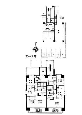 マンション(建物全部)-札幌市中央区南二十条西13丁目 間取り