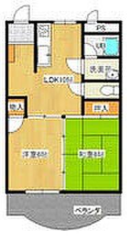 マンション(建物一部)-甲府市中央3丁目 間取り