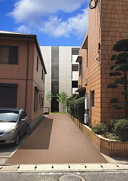 マンション(建物全部)-福岡市南区井尻3丁目 敷地北側通路イメージ