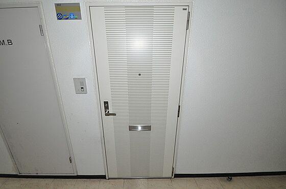 ビル(建物全部)-福岡市南区大橋1丁目 白色でシンプルな玄関ドア