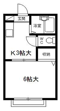 アパート-さいたま市中央区鈴谷4丁目 間取り