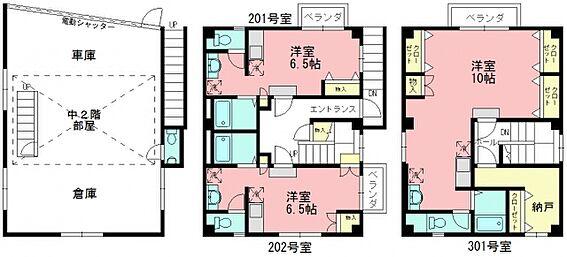 マンション(建物全部)-新宿区高田馬場3丁目 間取り