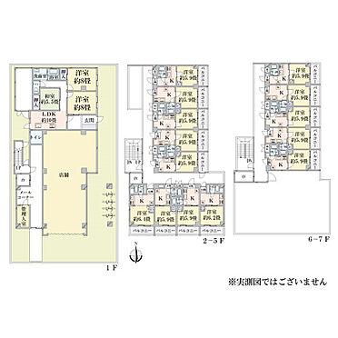 マンション(建物全部)-東大阪市下小阪5丁目 間取り