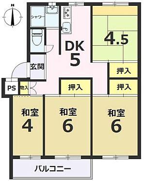 マンション(建物一部)-京都市伏見区醍醐構口町 間取り