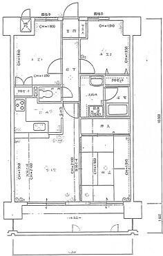 マンション(建物一部)-下関市上新地町5丁目 間取り