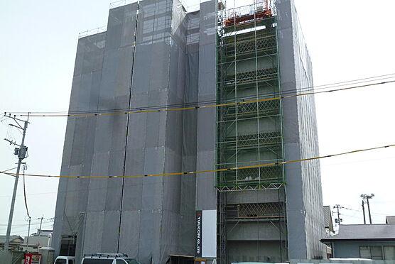 マンション(建物全部)-熊本市南区島町4丁目 建築中・平成29年3月22日撮影
