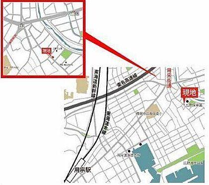 アパート-静岡市駿河区広野6丁目 地図